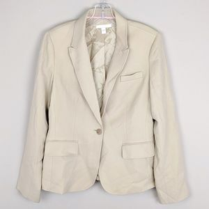 Hugo Boss | Creme Button Blazer-B13